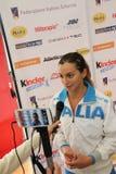 Der Degen 2014 der Weltcupfrauen Lizenzfreies Stockbild