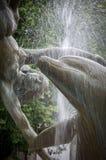 Der Delphin-Brunnen Lizenzfreies Stockfoto