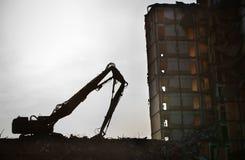Der Demolierungbereich Stockbild