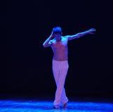 Der Denker-Schrei-moderne Tanz Stockfoto