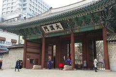 Der Deoksugungs-Palast in Seoul, Südkorea Stockfoto