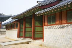 Der Deoksugungs-Palast in Seoul, Südkorea Stockbild