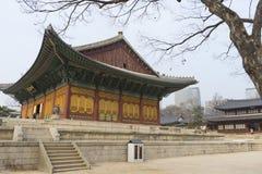 Der Deoksugungs-Palast in Seoul, Südkorea Stockfotografie