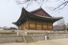 Der Deoksugungs-Palast in Seoul, Südkorea Lizenzfreie Stockfotos