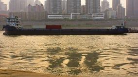 Der der Jangtse-Frachter Lizenzfreies Stockfoto