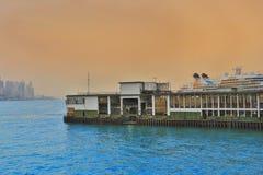 Der derry Pier an Test Lizenzfreies Stockfoto