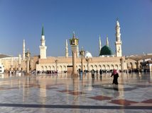 Der Des Prophet-Mohammeds Masjid Stockfotografie