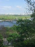 Der Dnieper Fluss Stockbild