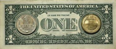 Der Dollar ist einer Lizenzfreie Stockbilder