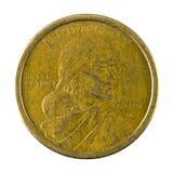 1 der Dollar-Münze 2000 Vereinigter Staaten Rückseite Stockfotografie