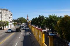 Der Doppelpunkt-Kirchhof, Vedado-Bezirk, Havanna, Kuba Lizenzfreies Stockfoto