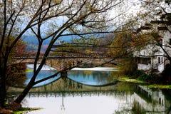 Der Dorfvertreter von Hui Style Architecture in China stockbilder