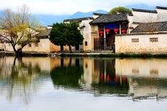 Der Dorfvertreter von Hui Style Architecture in China stockfoto