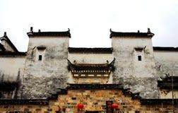 Der Dorfvertreter von Hui Style Architecture in China stockfotografie