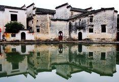 Der Dorfvertreter von Hui Style Architecture in China lizenzfreies stockbild