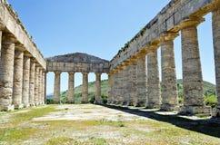 Der Doric Tempel von Segesta lizenzfreie stockfotos