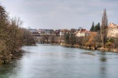 Der Doubs-Fluss Lizenzfreie Stockfotografie