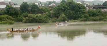 Der Dracheboot Tag des Porzellans Stockbild