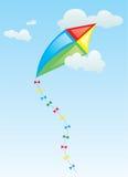 Der Drachen im Himmel Stockfoto