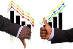 Der dreifache Anstieg und der Fall Lizenzfreie Stockfotos