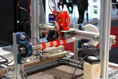 Der Drucker 3D Lizenzfreies Stockfoto