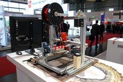 Der Drucker 3D Lizenzfreies Stockbild