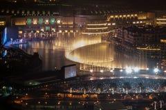 Der Dubai-Brunnen Stockbild