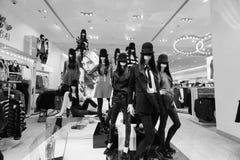 Der Dubai-Mall Lizenzfreies Stockfoto
