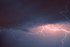 Der Blitz Stockbild