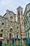 Der Duomo in Florenz, Italien Stockbilder