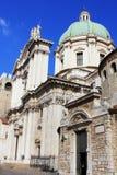 Der Duomo Vecchio oder alte Kathedrale, Brescia, Italien Brescia ist eine Stadt, die in Nord von Italien nahe dem berühmten See g Stockfotos
