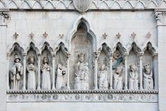 Der Duomo von Gemona Del Friuli Stockfotos