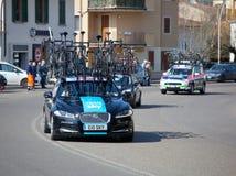 Der Durchgang vom tyrrhenischen zur Adria in Empoli 13/03/20 Lizenzfreie Stockfotografie