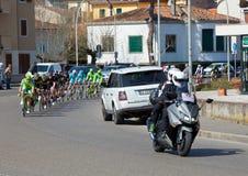 Der Durchgang vom tyrrhenischen zur Adria in Empoli 13/03/20 Lizenzfreie Stockbilder