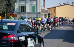Der Durchgang vom tyrrhenischen zur Adria in Empoli 13/03/20 Lizenzfreies Stockfoto