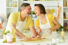 Der Ehemann und die Frau stockbilder