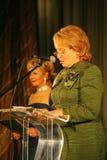 Der Ehrengast Valentina Matvienko, einer der berühmtesten zeitgenössischen weiblichen Politiker Lizenzfreie Stockfotos