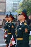 Der Ehrenschutz von Innenministeriumtruppen von Russland Stockbilder
