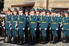 Der Ehrenschutz von Innenministeriumtruppen von Russland Lizenzfreies Stockfoto
