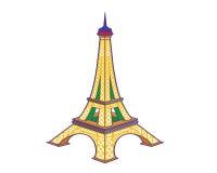 Der Eiffelturm Stock Abbildung
