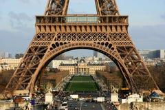 Der Eiffelturm Stockbild