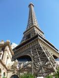 Der Eiffelturm in Las Vegas stockbilder