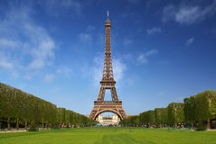 Der Eiffelturm in Paris Lizenzfreie Stockfotografie