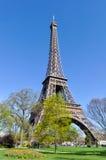 Der Eiffelturm in Paris Stockfotos