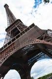 Der Eiffelturm, Paris Stockfotos