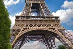 Der Eiffelturm, Paris Stockbild