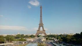Der Eiffelturm in Paris, Frankreich stockbilder
