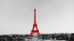 Der Eiffelturm in Paris, Frankreich lizenzfreie stockfotos