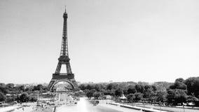 Der Eiffelturm in Paris, Frankreich lizenzfreies stockbild