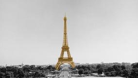 Der Eiffelturm in Paris, Frankreich lizenzfreies stockfoto